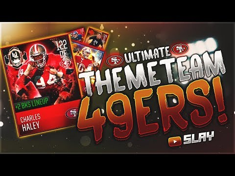 ALL-TIME 49ERS SQUAD!? BEST AT EVERY POSITION! HOLY CRAP! MADDEN MOBILE 18