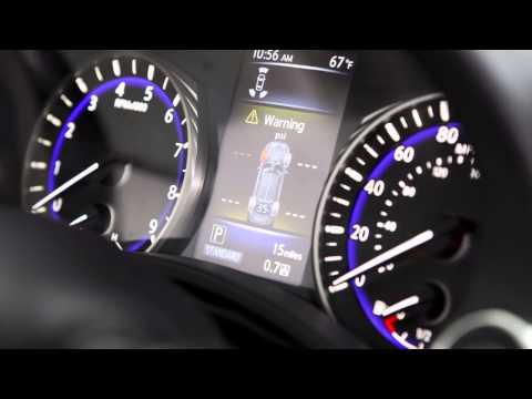 2015 Infiniti Q50 - Tire Pressure Monitoring System (TPMS) with Tire Inflation Indicator