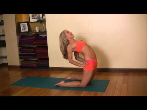 Yoga Deeper Backbends, Ustrasana to Kapotasana Prep with Kino