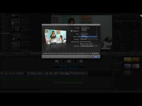 How To Export A Video To Quicktime .MOV in Final Cut Pro X  FCPX