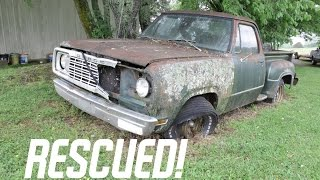 Rescuing a Truck Abandoned For 27 Years