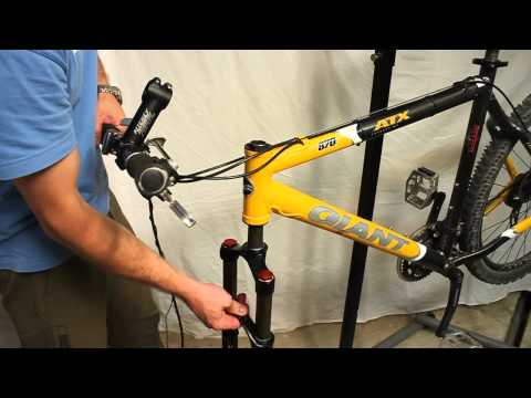 How to clean and lube a head tube