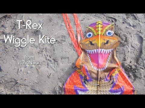 T-Rex Wiggle Kite