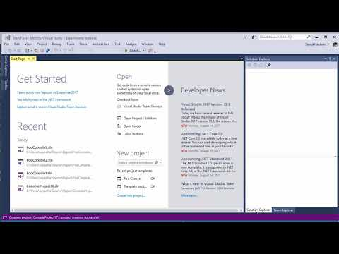 How to create project templates for Visual Studio 2017 (SideWaffle Creator 2017)