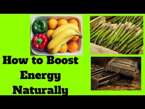 How to Boost Energy Naturally - The 12 Best Natural Energy Boosting Foods  by Qanitah.A