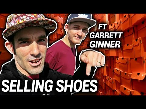 How to Make a Million Dollars Selling Shoes on Amazon/Ebay - Ft Garrett David Ginner