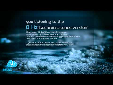 REM Sleep Chill Out 8Hz Isochronic tones 8 Hours