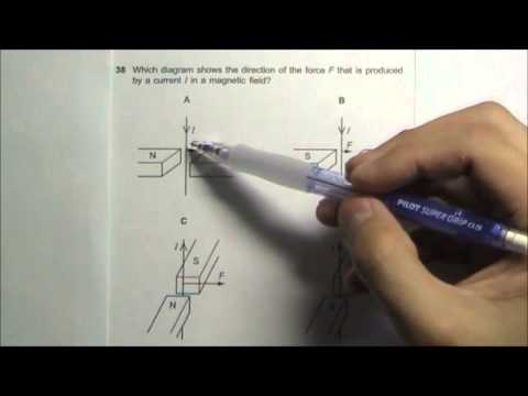 2008 O' Level Physics 5058 Paper 1 Solution Qn 36 to 40