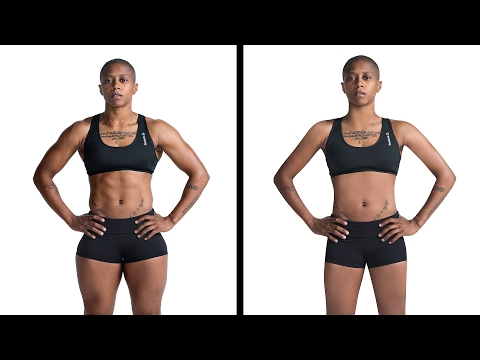 Athletic Women Get Their Muscles Photoshopped