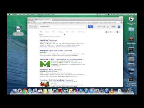 Watch and convert .avi files to use with iMovie on mac macbook OS X Mavericks