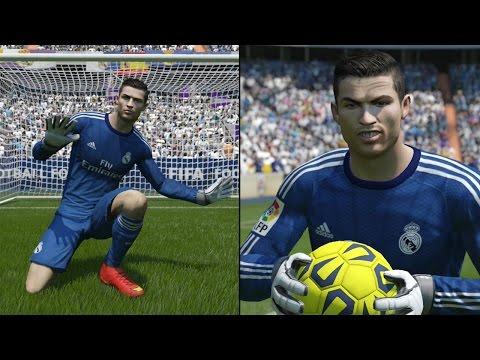 FIFA 15 Ultimate Team - Cristiano Ronaldo Playing Keeper!