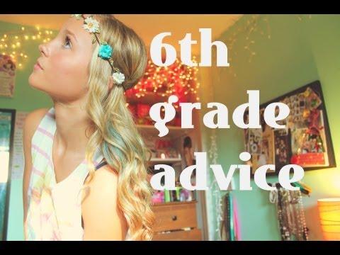 Back to school: 6th grade advice ❤