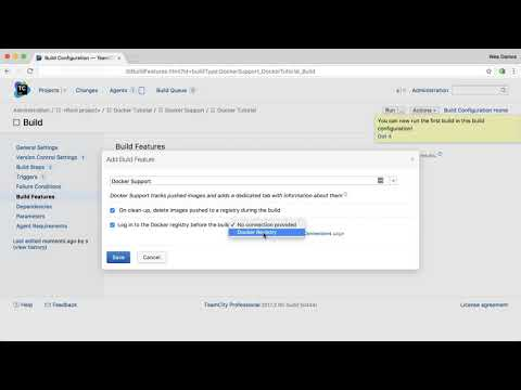 TeamCity Docker Support