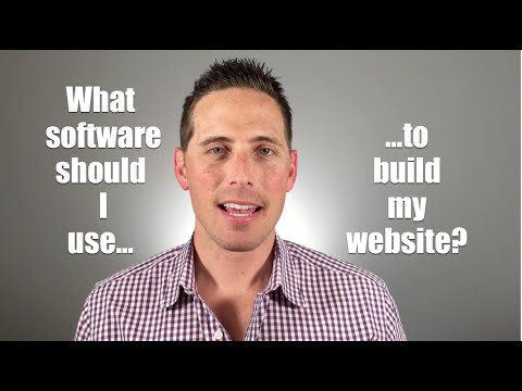 What software or Platform Should I Use To Build My Website