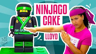 How To Make LLOYD From The NEW LEGO NINJAGO MOVIE Out Of CAKE | Yolanda Gampp | How To Cake It