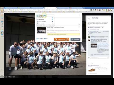 How to share pictures from Facebook using Hootlet