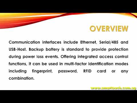 Biometric Fingerprint Device  iClock-880 Overview and Features with Payslip Malaysia from Payroll
