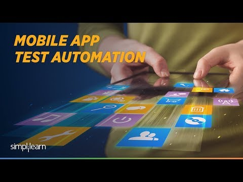 Appium Tutorial For Beginners | Appium Mobile Testing | Selenium Tutorial For Beginners |Simplilearn