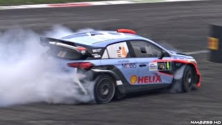 BEST of Car Burnouts, Donuts & Drifts @ Monza Rally Master Show 2016