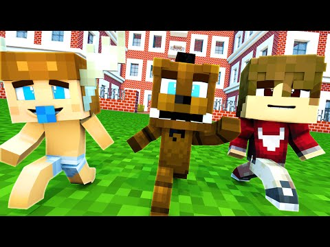 Minecraft School : FIVE NIGHTS AT FREDDY'S - BABY GETS BULLIED?! (Minecraft Roleplay) Night 1