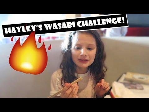 Hayley's Wasabi Challenge 🔥 (WK 376.2)   Bratayley