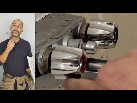 How to Remove a Seized Tub Faucet and Trim Kit