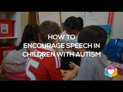 How to encourage speech in children with autism