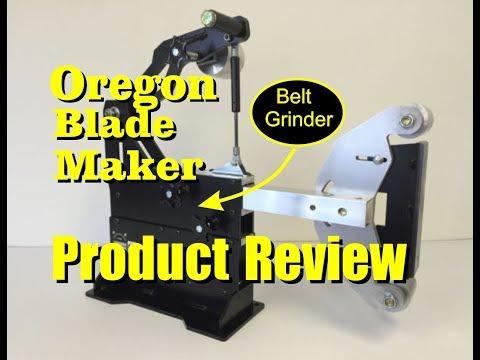 Oregon Blade Maker 2x72 Belt Sander Product Review
