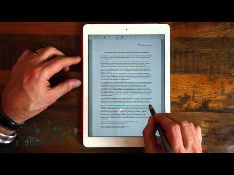 PDF-Dokumente auf dem iPad mit GoodNotes annotieren