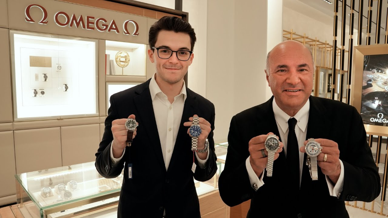 Watch Shopping with Kevin O'Leary: Building a Perfect Watch Collection for $60,000