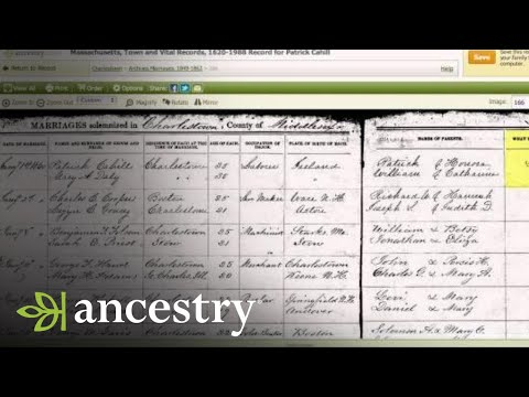 Finding Clues in Marriage and Divorce Records on Ancestry.com