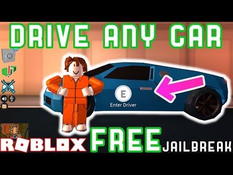 DRIVE ANY VEHICLE FREE GLITCH!? - Roblox Jailbreak MythBusting