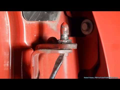 How To Replace Door Hinge Pins On Chevy Silverado, GMC Trucks, and SUVs
