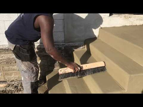 How easily install Concrete Steps | Concrete and Cement Work