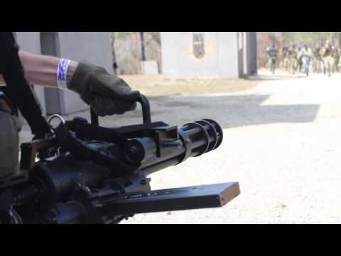 DON'T CHARGE A MINIGUN - AIRSOFT