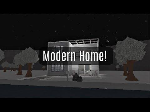 Roblox | Bloxburg | Modern House! (35k)