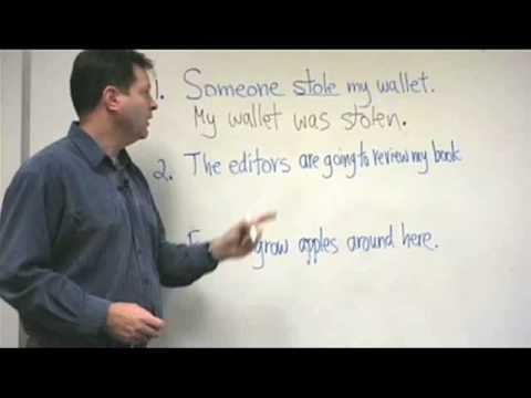 Advanced English Grammar Lesson for ESL - Passive Voice