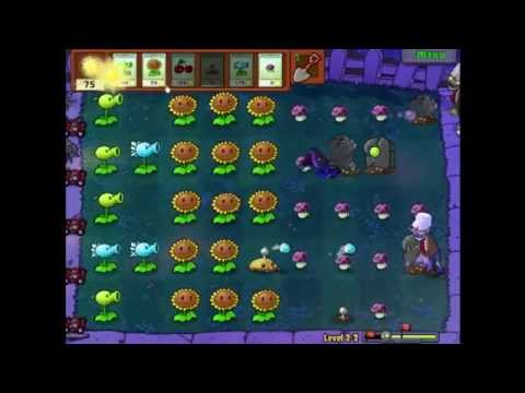 Plants Vs Zombies Lv 2-2
