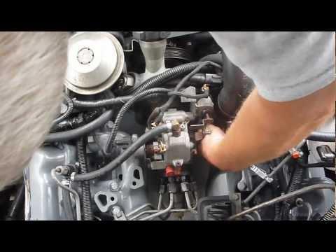 Pump timing adjustment