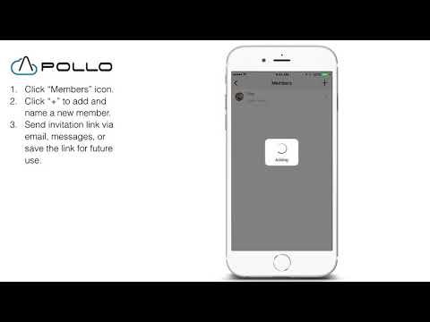 Apollo Cloud 2 - How do I add a new member (iOS)