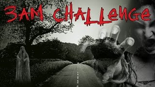 3AM CHALLENGE ON A GHOST INFESTED HAUNTED HIGHWAY!