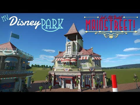 Candy Shop! | My Disney Park in Planet Coaster [S1:EP1]