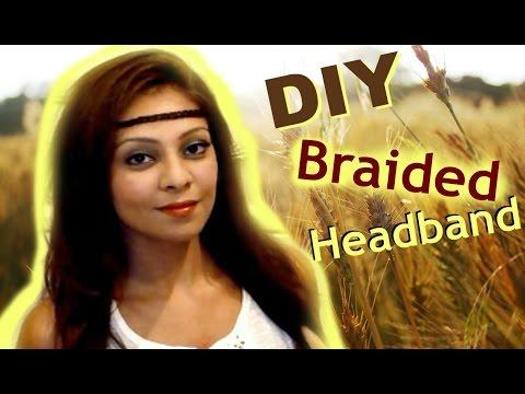 EASY Braided Boho Hairstyle Tutorial │ DIY Braided Hair Head Band │ Coachella Music Festival Hair