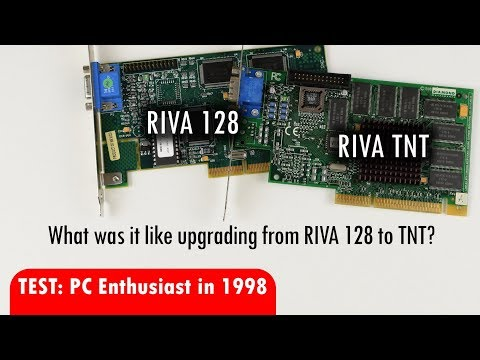 Nvidia RIVA 128 vs TNT in 1998: Performance, Image Quality and more