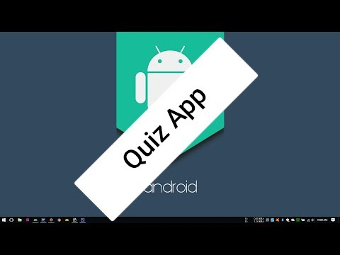Android Tutorial (Kotlin) - 18 - Quiz App