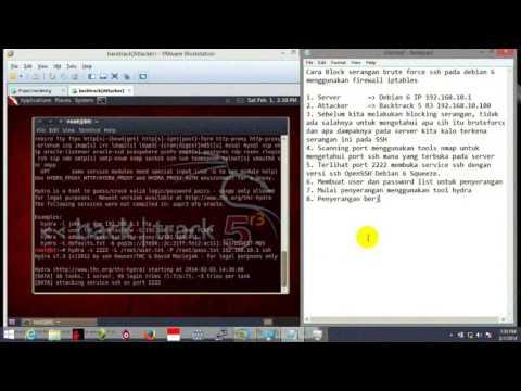 Hack SSH Server With Kali Linux