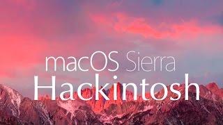 Hackintosh macOS Sierra avec des MacPwn - PakVim net HD