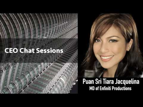 The AmBank CEO BizChat Series - Puan Sri Tiara Jacquelina, MD of Enfiniti Productions
