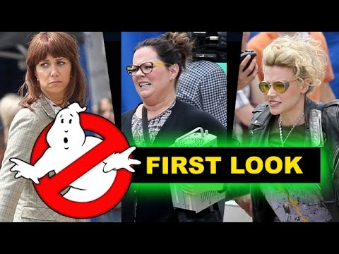 Ghostbusters 2016 First Look, On-Set Photos - Review aka Reaction - Beyond The Trailer