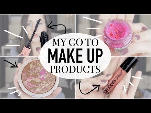 MY GO TO MAKEUP PRODUCTS! || SIGMA BEAUTY